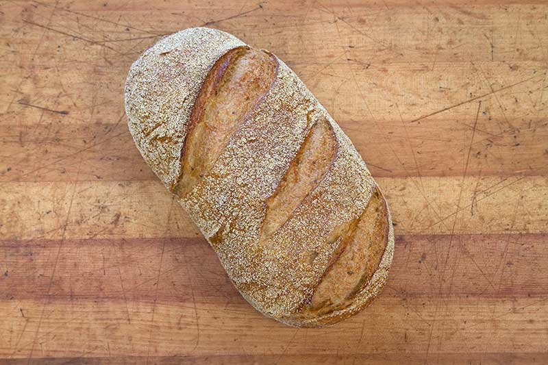 New York Corn Rye Batard