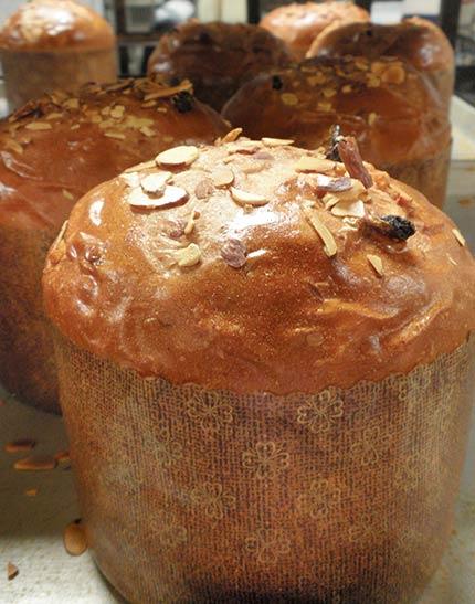 Kulich bread
