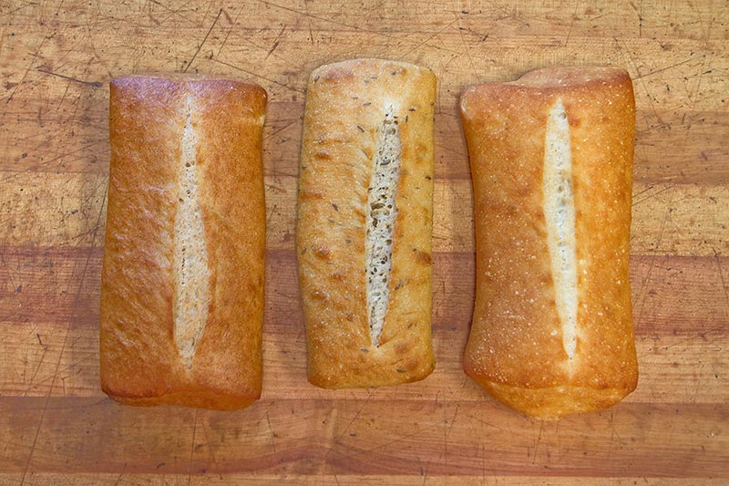 Artisan sandwich rolls