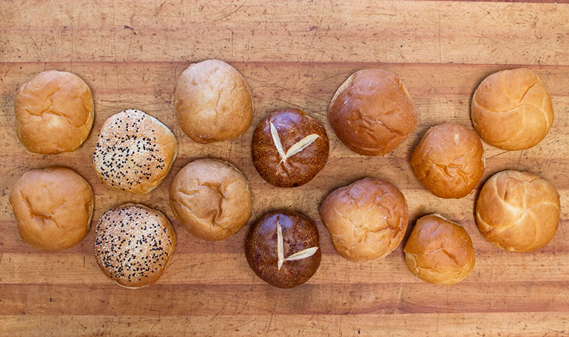 Sandwich and Hamburger Buns